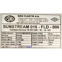 Капельная лента эмиттерная Sunstream 20см 6 mil (500м) 1.6 л/ч