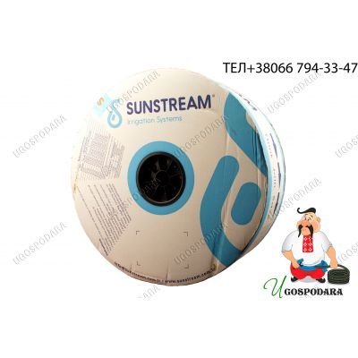 Капельная лента щелевая Sunstream 20см 6 mil (2800м) 1.6 л/ч