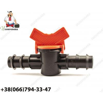 Кран соединительный d 20 мм труба-труба.Китай