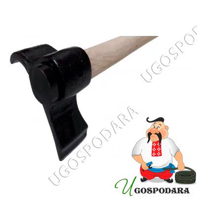 Колун со смещенным центром тяжести (ручка из ясеня) 3400 гр