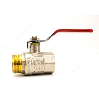Кран шаровый WaterPro MFL (ручка сталь)