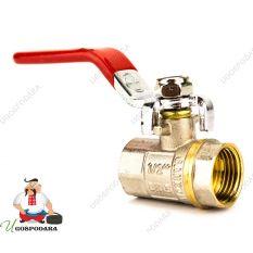 Кран шаровый  WaterPro FFL (ручка сталь)