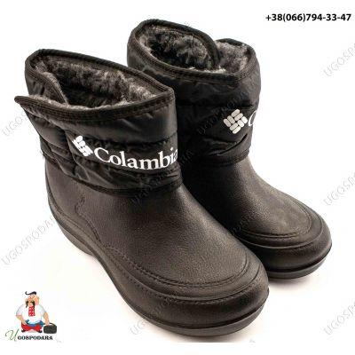 Ботинки женские из пены (липучка Colambia)