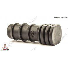Заглушка торцевая для трубки d 20 мм Китай