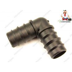 Колено соединительное для трубки d 25 мм