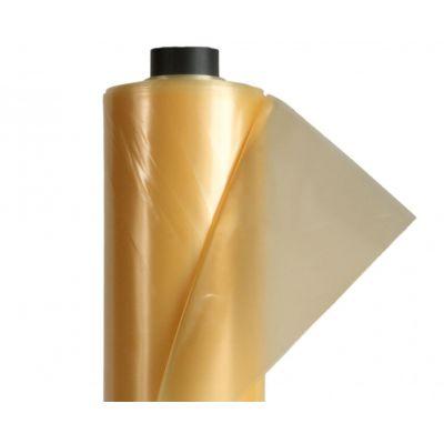 Пленка тепличная (рукав) 120 мкм, 2х100 м (желтая,1 год)