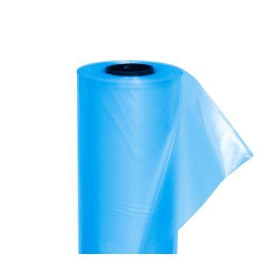 Пленка тепличная (рукав) 120 мкм, 1,5х100 м (голубая,2 года)