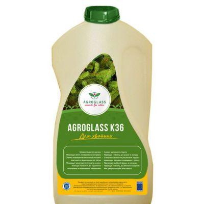 Удобрение бесхлорное органическое Калий AGROGLASS К36 для хвойных (0,5 л)